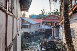 House on stilts, Tual, Indonesia, 2019.