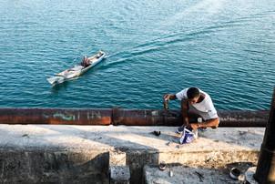 Fishermen, Tual, Indonesia, 2019.