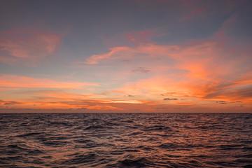 Sunset, Coral Sea, 2019.