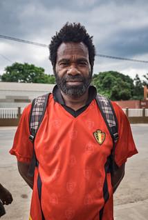 Belgian red devils, Luganville, Vanuatu, 2019.