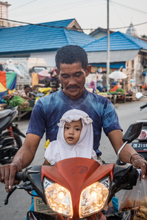 Father and daughter, Tual, Indonesia, 2019.