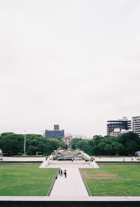 Hiroshima peace memorial park, Japan, 2019.