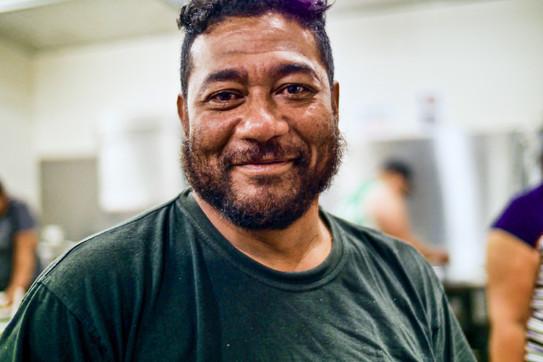 Sione Fifita AKA John Wayne—Tonga, Tasmanie, Australie, 2018.