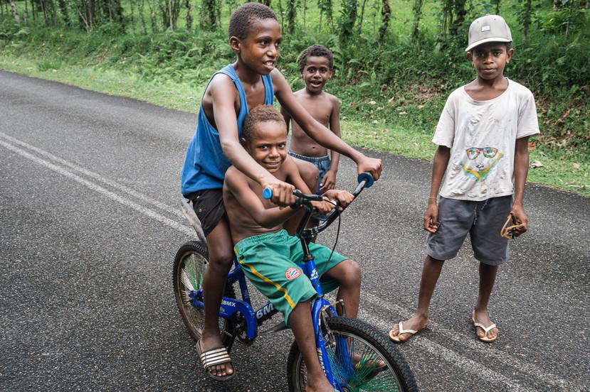 Going to the blue hole, Santo Island, Vanuatu, 2019.