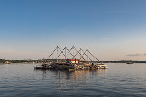 Fishing platform, Tual, Indonesia, 2019.