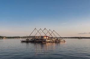 Fishing platform, Tual, Indonesia, 2019.