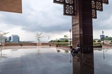 Mosquée Putrajaya, Malaisie, 2020.