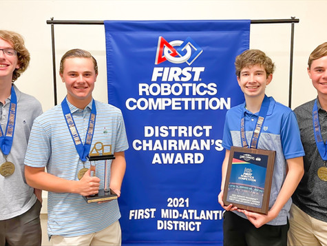 FRC Team 5181 Wins District Level Chairman's Award