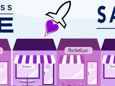 RocketLuv. com Small Business Saturday Website Banner