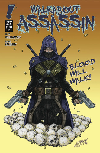 Walkabout Assassin #27 cover art
