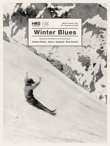 Winter Blues emo/alternative showcase poster