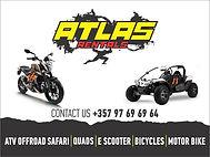 atlas rentals quads motorbikes buggies bikes limassol cyprus hire