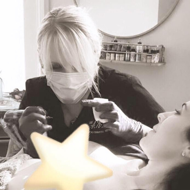 Stacie-Rae has been tattooing with a mask on for years already!