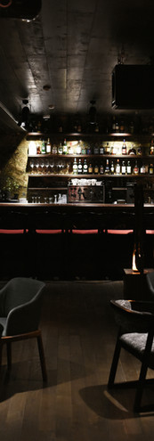 Bar from stage