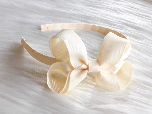Classic Cream Headband