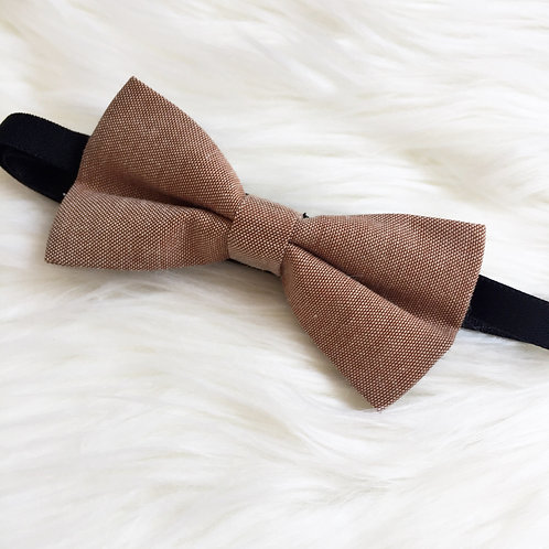 Rustic Brown Bow Tie