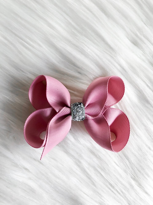 Blush Pink Stardust Bow (Set of 2)