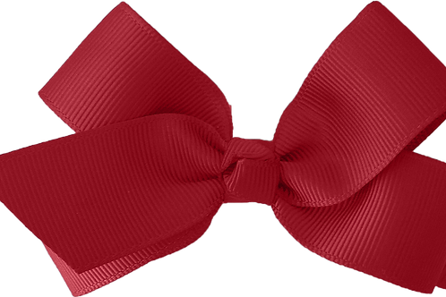 Evie Rose Red Butterfly Bow