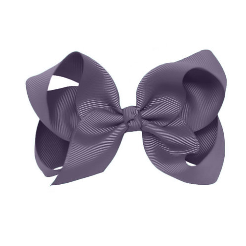Rich Lavender Classic Bow (Set of 2)