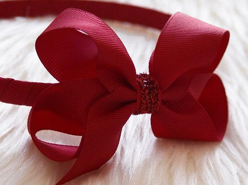 Evie-Rose Red Stardust Headband