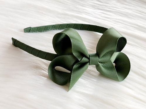 Khaki Green Headband