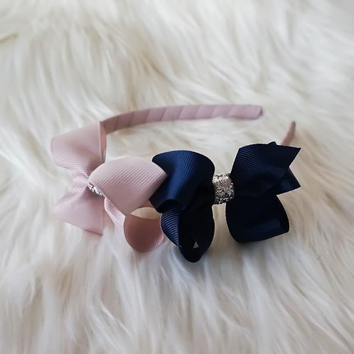 Twin Arabella Silver Stardust Headband