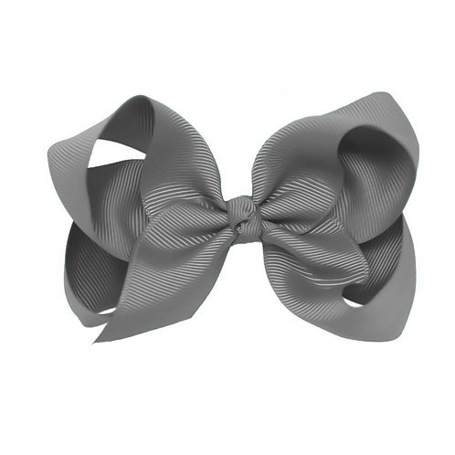 Shadow Grey Classic Bow (Set of 2)