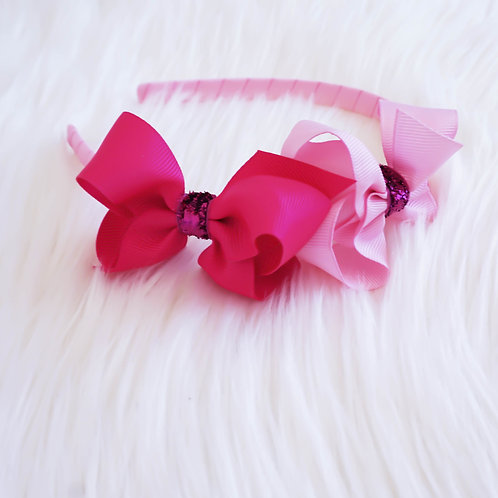 Twin Stardust Pink Headband