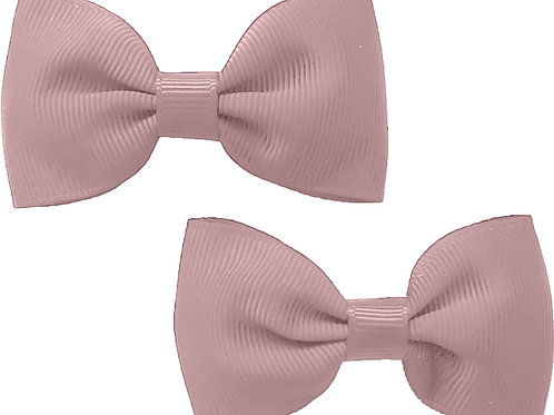 Antique Pink Traditional Bow (Set of 2)
