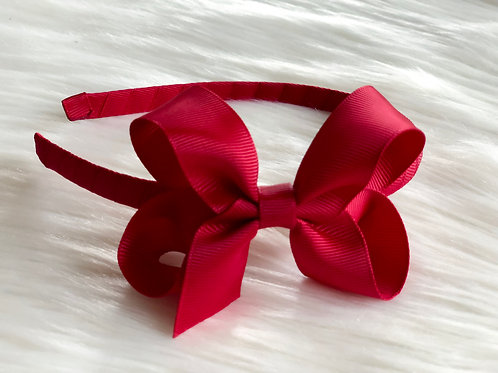 Evie-Rose Red Headband