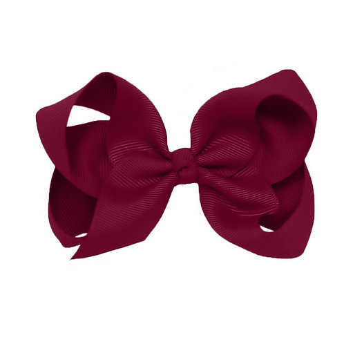 Maroon Classic Bow (Set of 2)