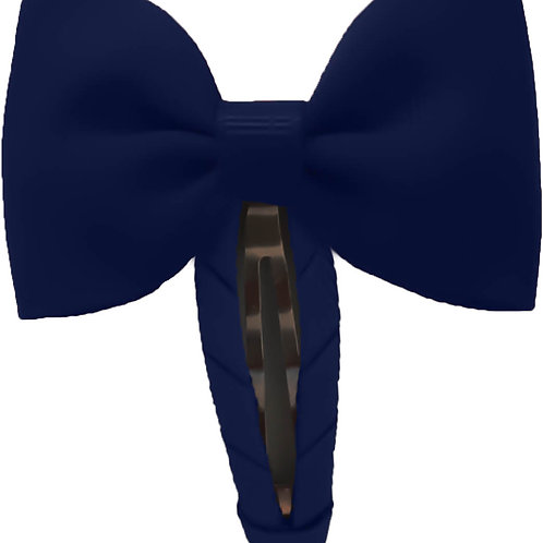Navy Blue Snap Clips (Set of 2)