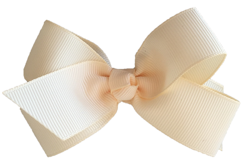Classic Cream Butterfly Bow