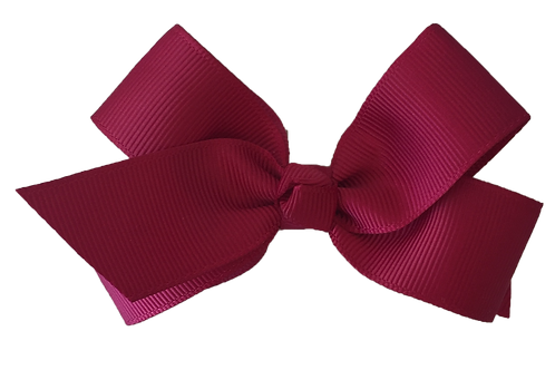 Maroon Butterfly Bow