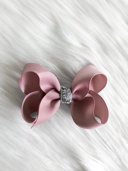Antique Pink Stardust Bow (Set of 2)
