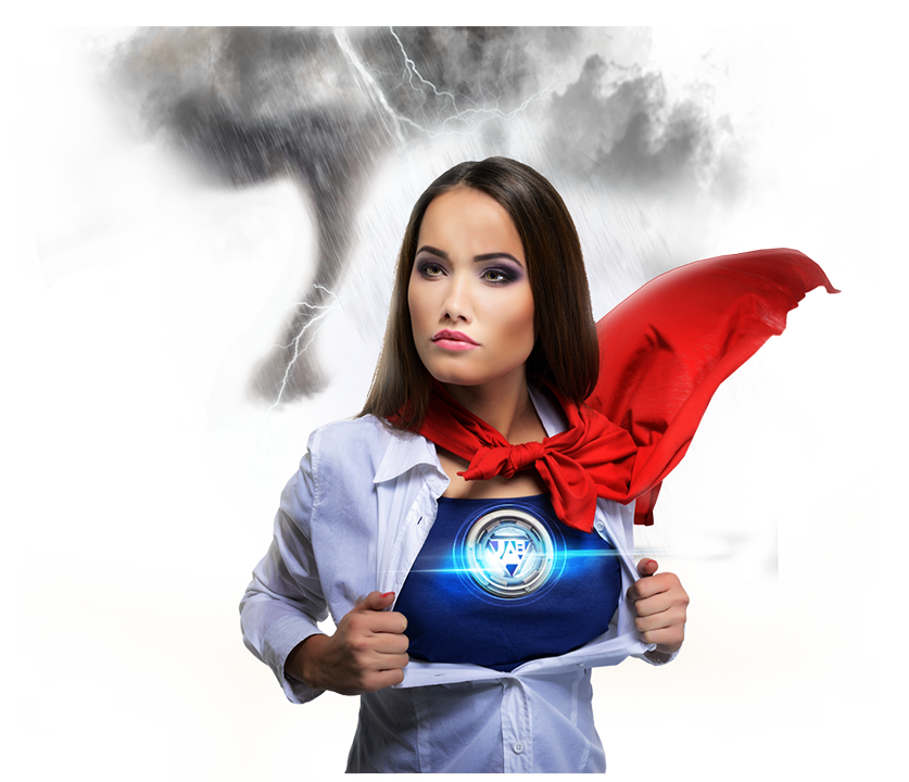 Super hero, Women