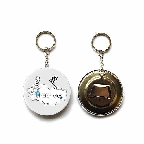 Porte clés / Décapsuleur - Breizh'elles
