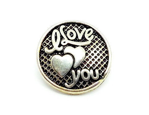 Bouton-pression I love you XH6023 18mm