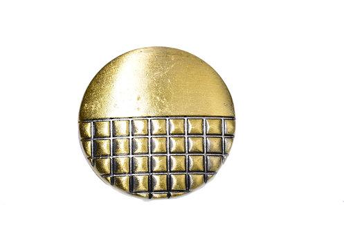 Bouton-pression bronze 18mm