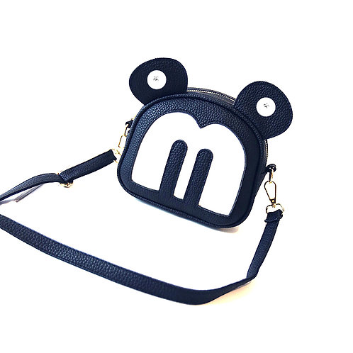 Sac 2 boutons-pression Mickey et Minnie 18mm