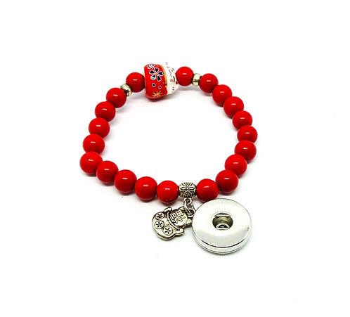Bracelet BB7563 rouge 18mm