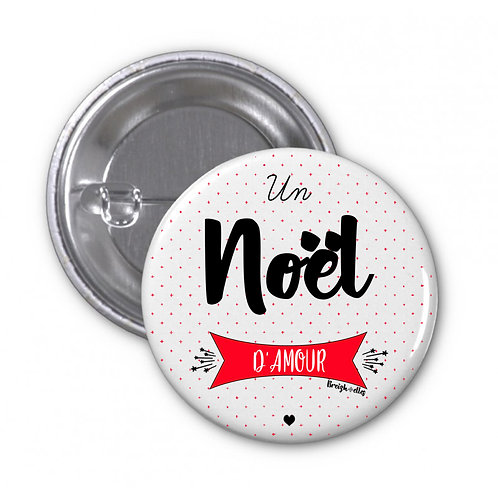 Badge - Noël d'amour