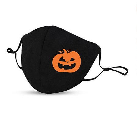 Masque Halloween citrouille