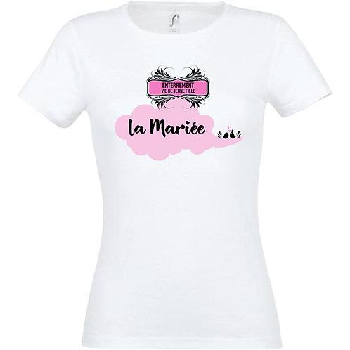 T-shirt - Enterrement vie de jeune fille