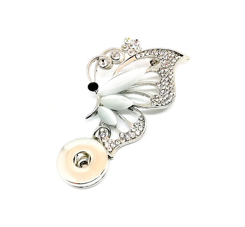 Broche papillon XJ002 18mm