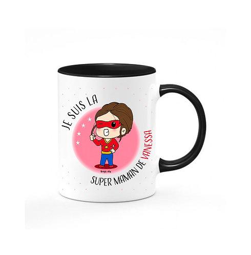 Mug - Super Maman personnalisé