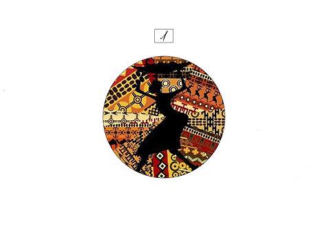 "Collection Boutons-pression Afrique ""Mini"" 12mm"