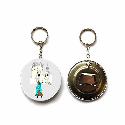 Porte clés / Décapsuleur - Dinan