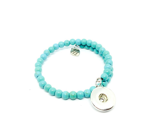 Bracelet turquoise AA128 18mm