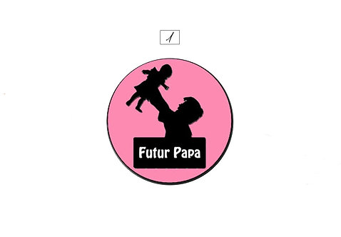 Collection Boutons-pression Futur papa